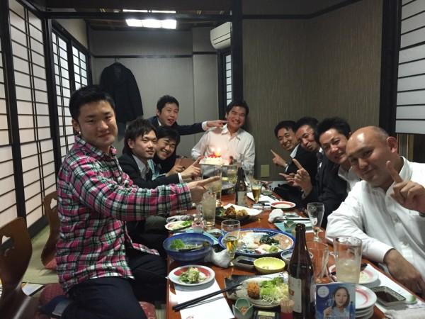 遠藤委員34歳前祝い