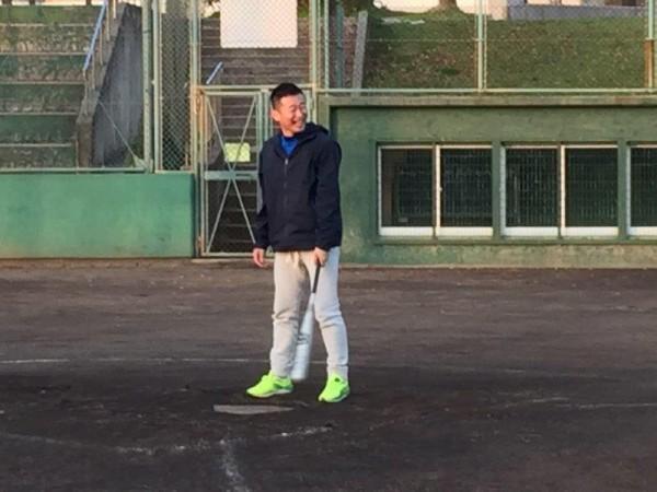 第1回野球練習