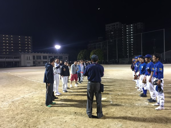 第3回野球練習VS太宰府天満宮チーム